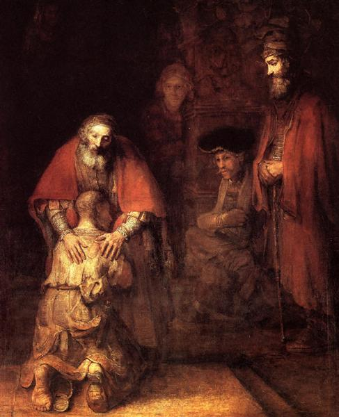 The Return of the Prodigal Son, 1669 - Rembrandt