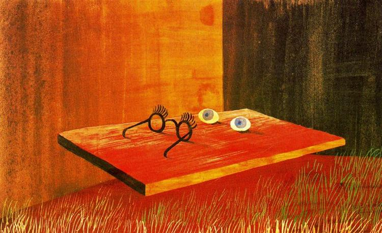 Eyes on the table, 1938 - Remedios Varo