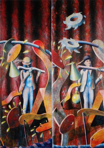 Memórias dum circo, 1991 - Rene Bertholo