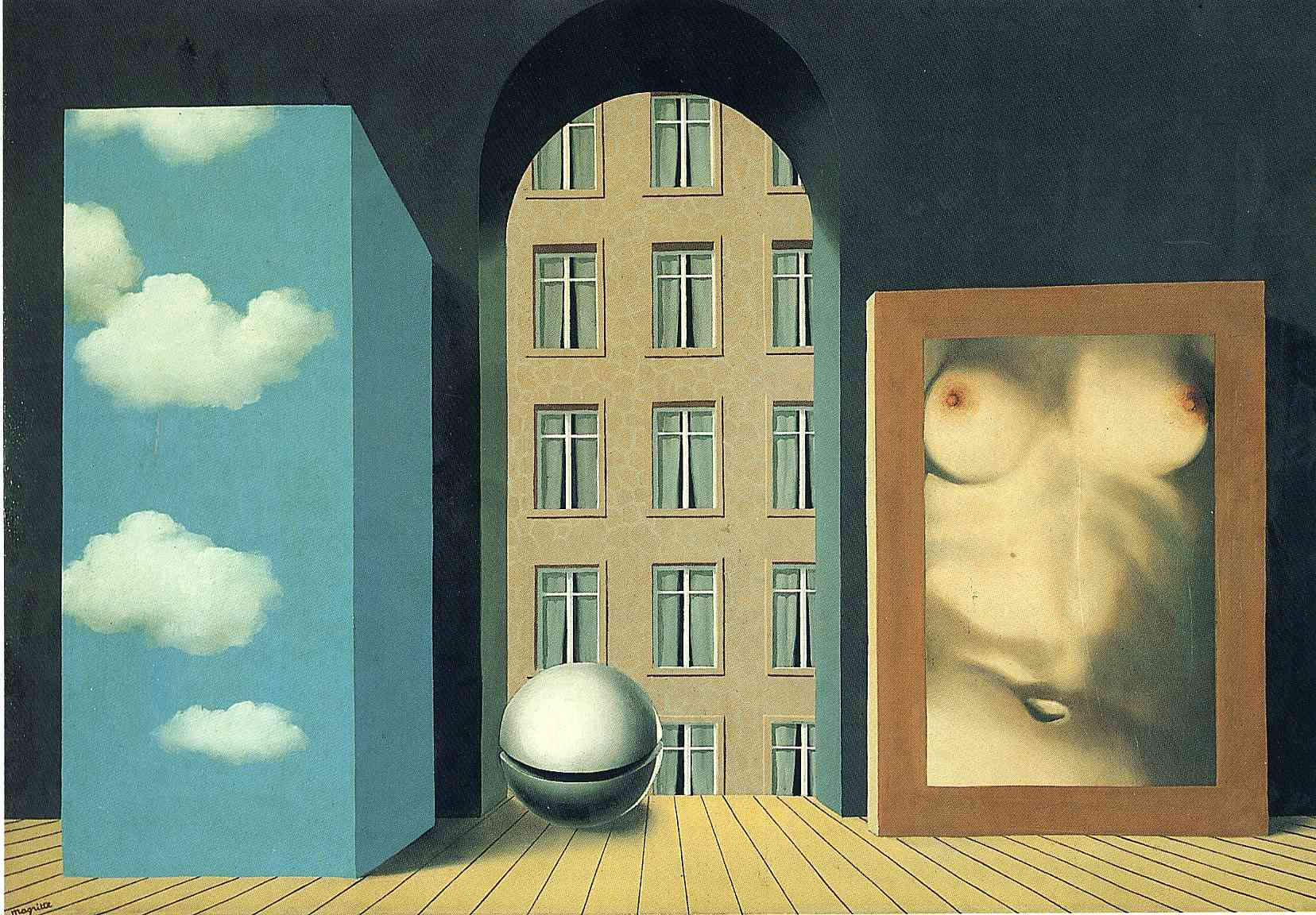 Act Of Violence Rene Magritte Wikiart Org