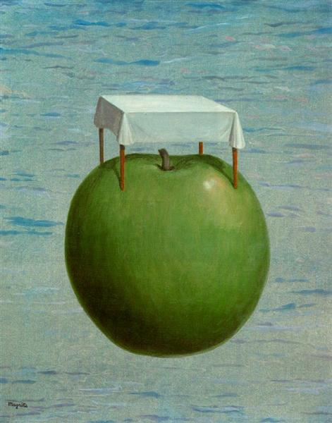Fine realities, 1964 - Rene Magritte