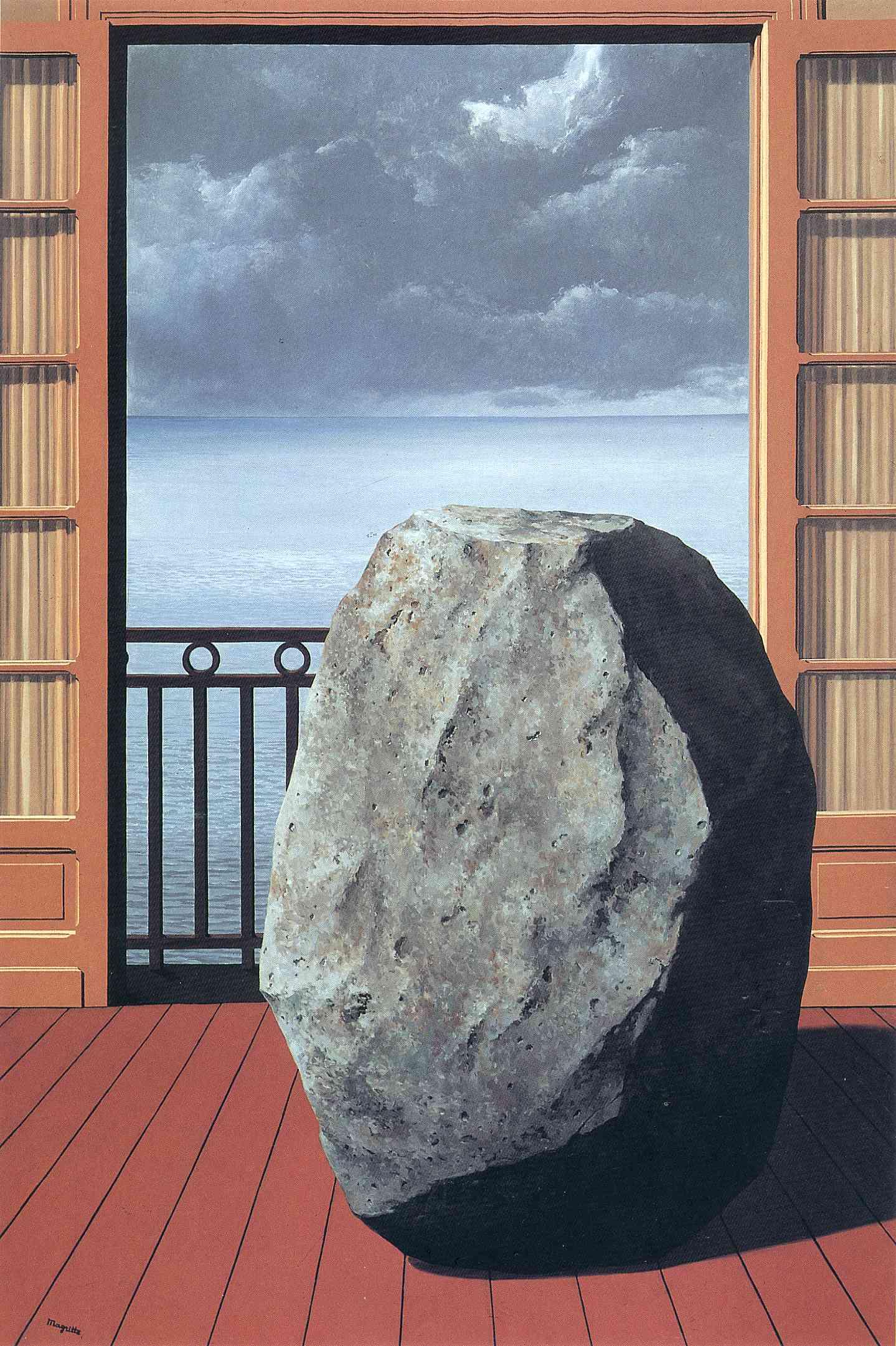 René Magritte (1898-1967) | Le paysage de Baucis | 1960s ...  |Rene Magritte Paintings