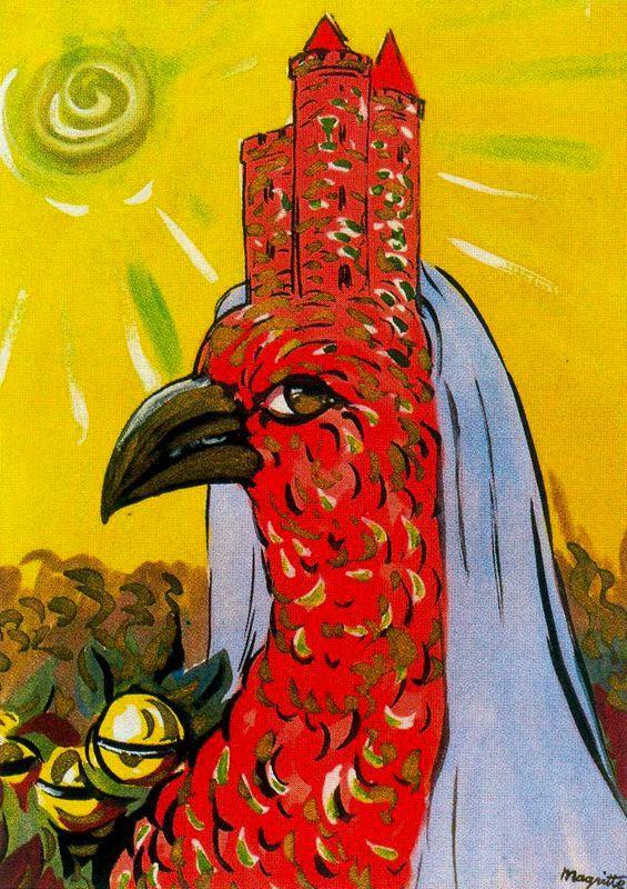 _Black_Acrylic: René Magritte - La Période Vache - photo#38