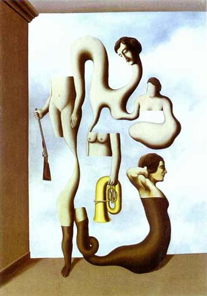 The Acrobat's Exercises - Magritte Rene