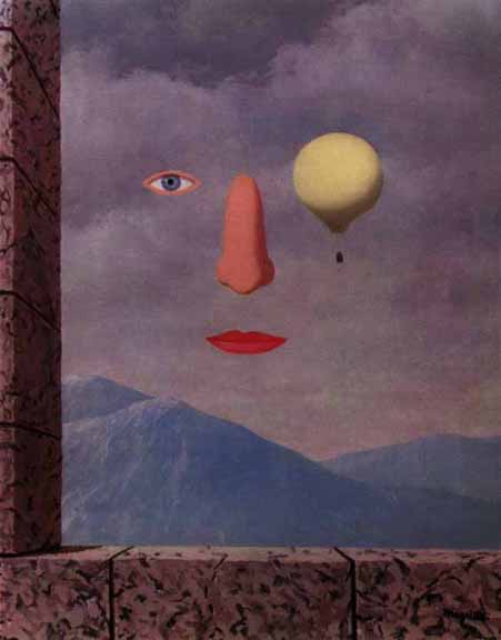 The age of enlightenment, 1967 - Rene Magritte