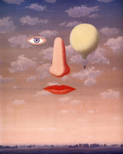 The beautiful relations, 1967 - Rene Magritte