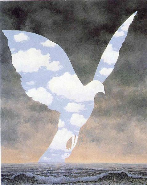The big family, 1963 - Rene Magritte