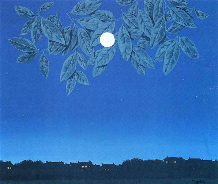 The blank page, 1967 - Rene Magritte
