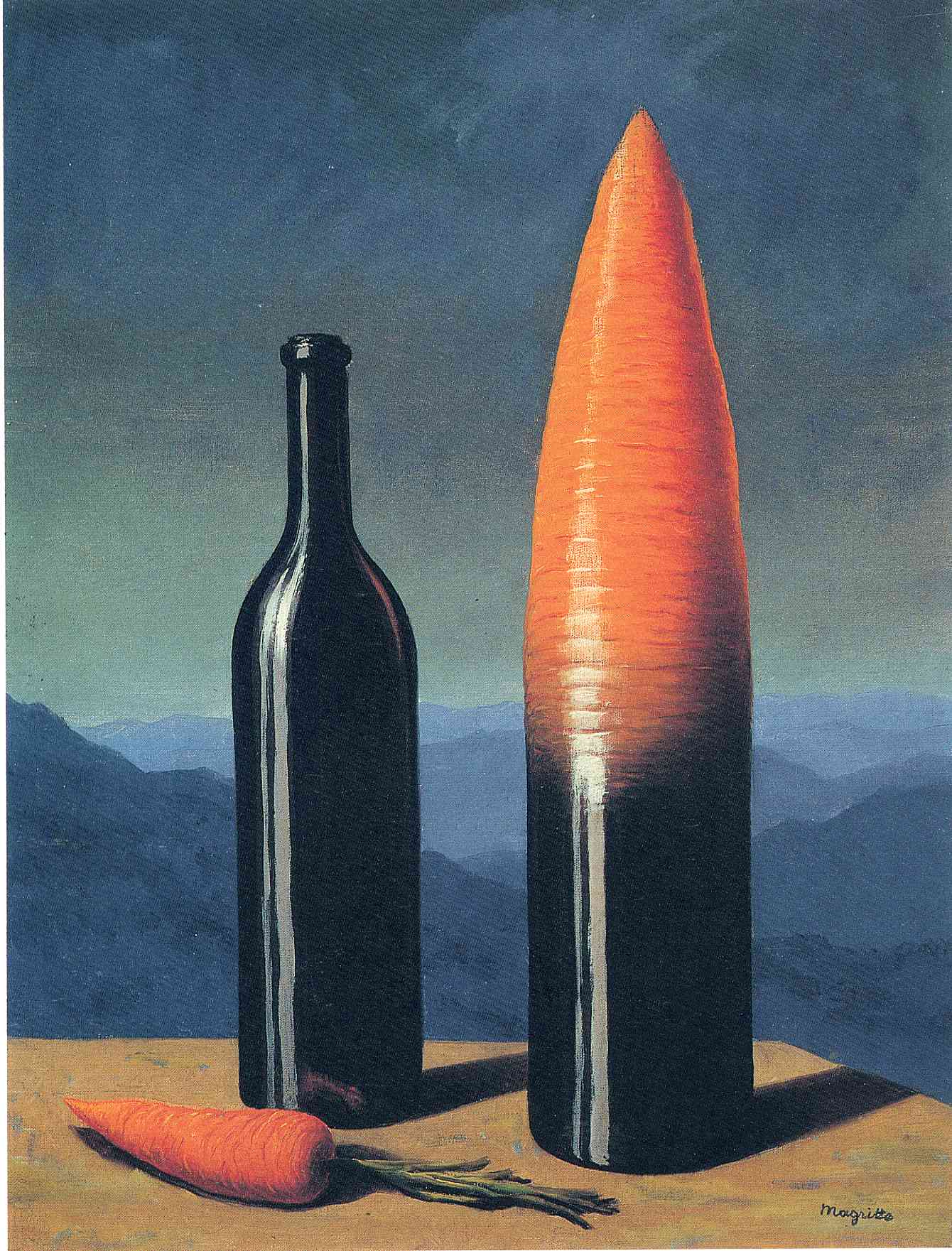 The explanation, 1952 - Rene Magritte - WikiArt.org