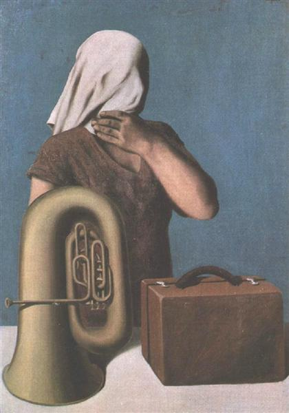 The heart of the matter, 1928 - Rene Magritte