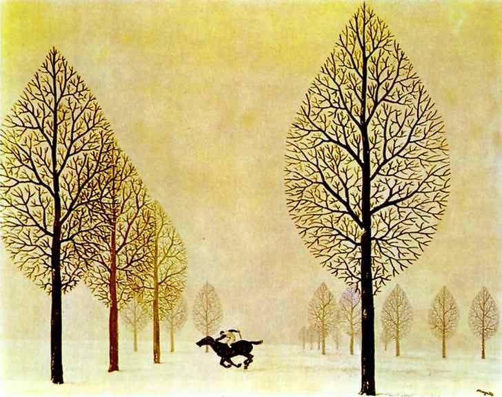 The lost jockey, 1948 - Rene Magritte