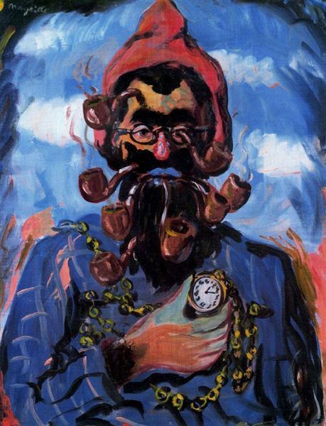 The maimed, c.1948 - Rene Magritte