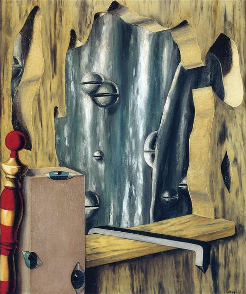 The silver gap, 1926 - René Magritte
