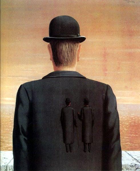 The spirit of adventure, 1962 - René Magritte