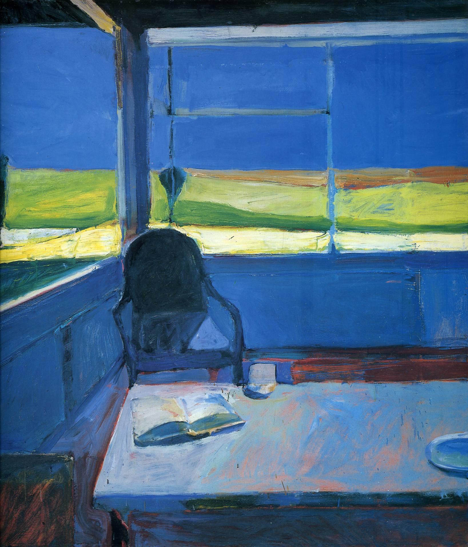 Interior with BookRichard Diebenkorn Paintings