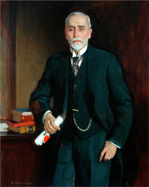 Sir James P. Hinchcliffe, Chairman of the County Council of the West Riding of Yorkshire - Річард Джек
