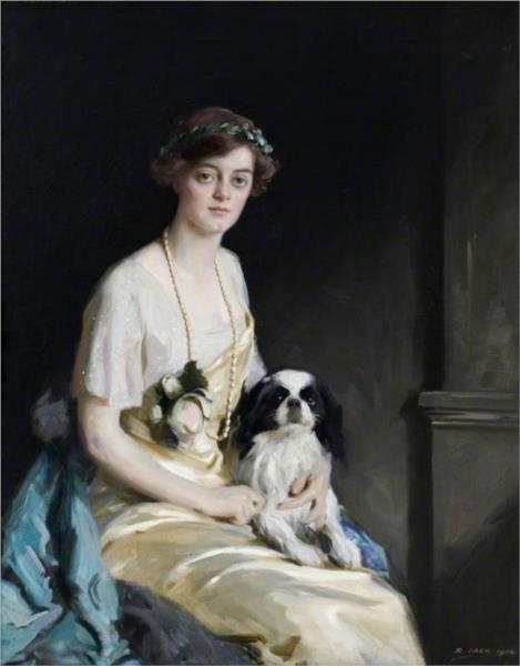 The Honourable Edith Violet Kathleen Agar Robartes - Річард Джек