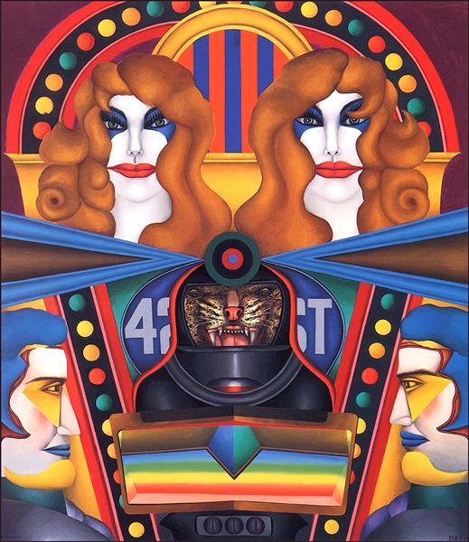 42nd Street - Richard Lindner