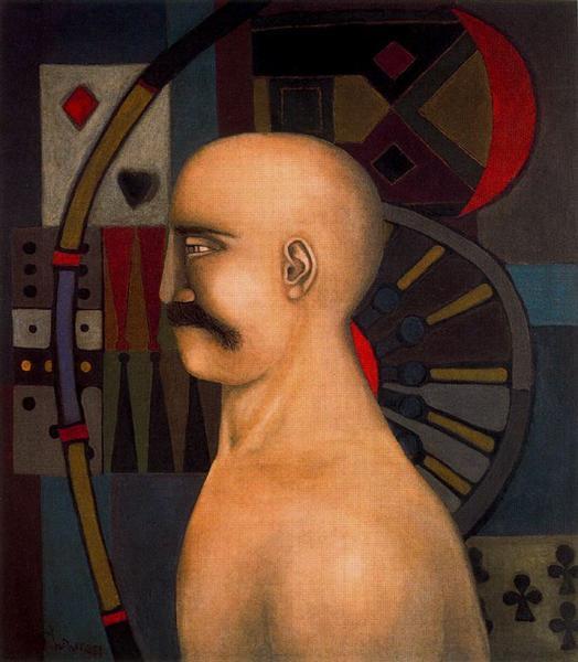 The Gambler - Richard Lindner
