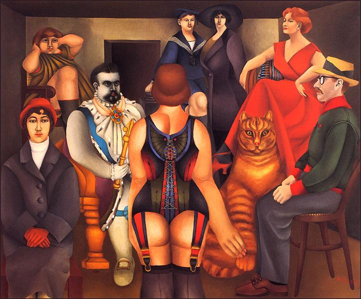 The Meeting - Richard Lindner
