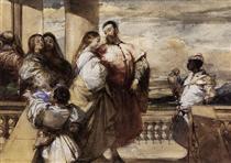 A Venetian Scene - Річард Паркс Бонінгтон