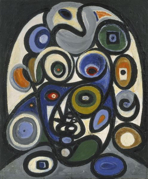 Head of Persephone, 1935 - Richard Pousette-Dart