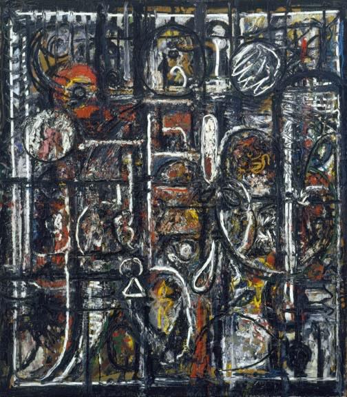 Palimpsest, 1944 - Richard Pousette-Dart