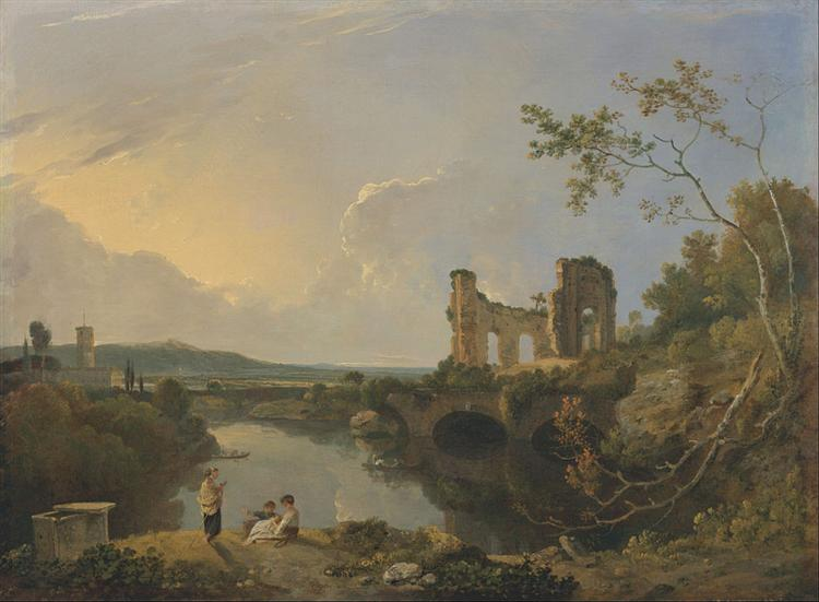 Italian Landscape (Morning), 1765 - Richard Wilson