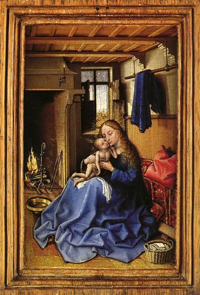 art history robert campin Robert campin , now usually identified with the master of flémalle , was the first   art historians have long been keen to trace the beginnings of the northern.