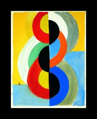 Rhythm Color Robert Delaunay Wikiart Org