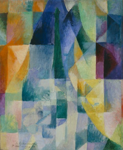 Simultaneous Windows (2nd Motif, 1st Part) - Robert Delaunay