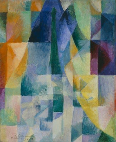Simultaneous Windows (2nd Motif, 1st Part), 1912 - Robert Delaunay