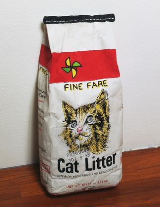 Cat Litter, 1989 - Robert Gober