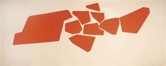 Large Fragemented Shapes, 1968 - Роберт Гуднау