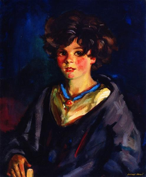 Annie Geg, 1925 - Robert Henri