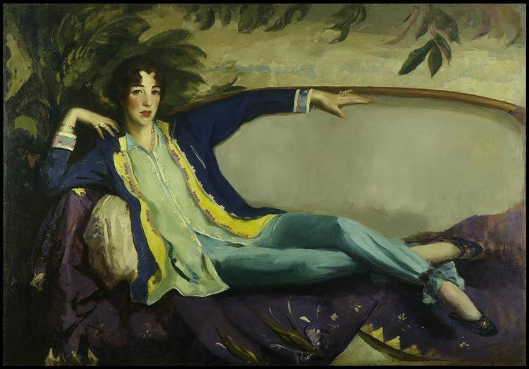 Gertrude Vanderbilt Whitney - Robert Henri