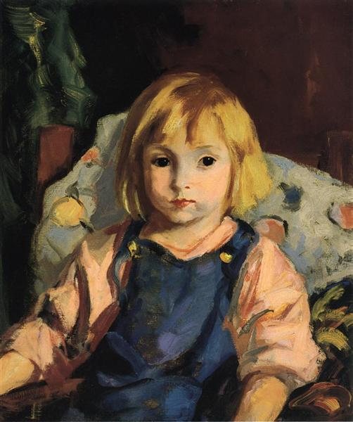Little Carl (Karl Schleicher), 1921 - Robert Henri