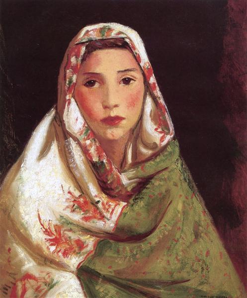 Mexican Girl, Maria, 1916 - Robert Henri