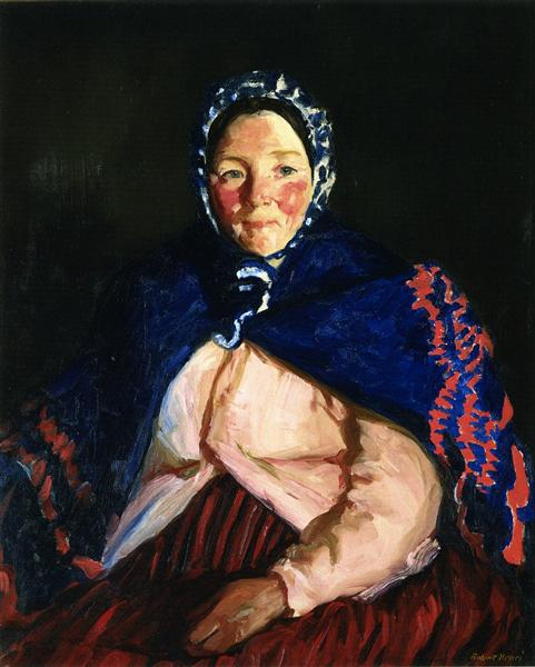 Old Johnnie's Wife, 1913 - Robert Henri