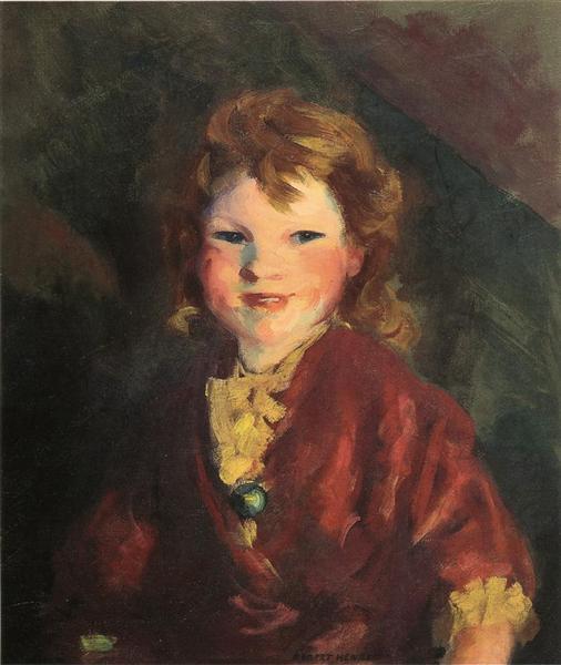 Portrait of Stella, 1907 - Robert Henri