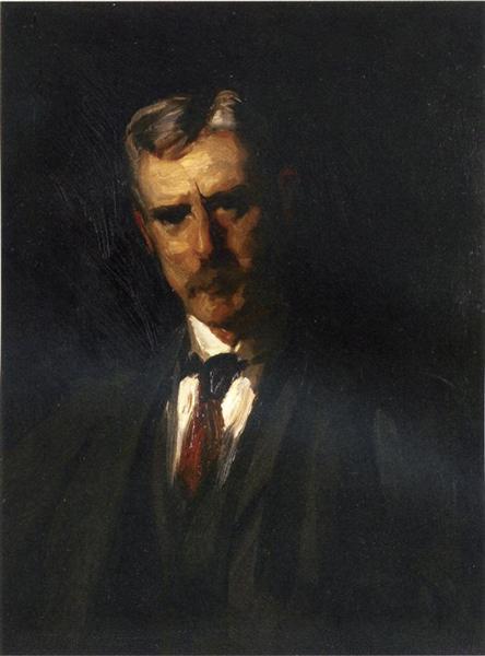 Portrait of Thomas Anschutz, 1906 - Robert Henri
