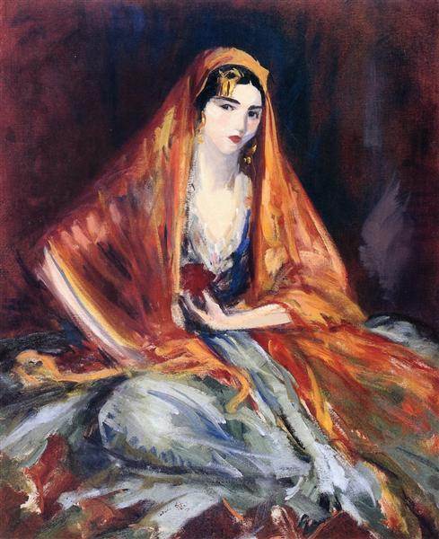 Roshanara, 1919 - Robert Henri