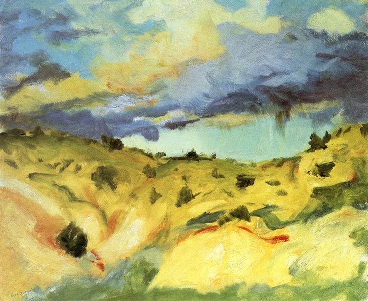 Santa Fe Landscape, 1917 - Robert Henri