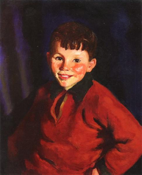 Smiling Tom (Thomas Cafferty), 1924 - Robert Henri