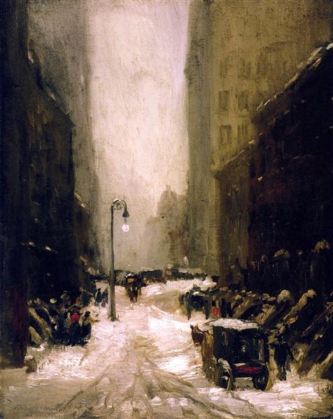 Snow in New York, 1902 - Robert Henri