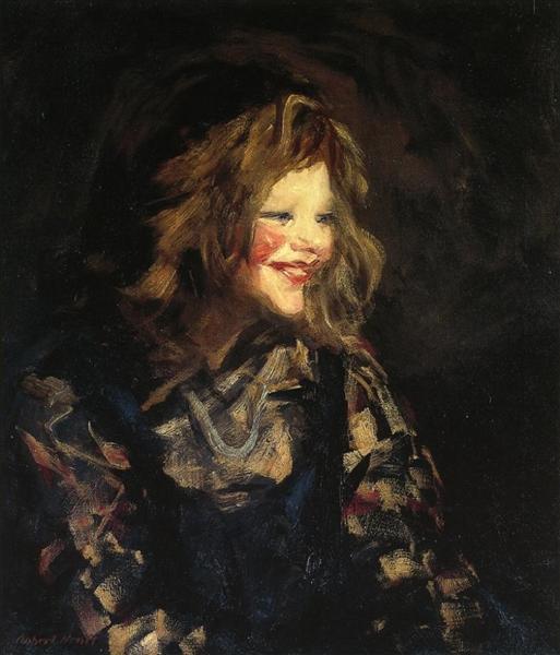 Spanish Urchin (also known as Laugh Cheeks) - Robert Henri