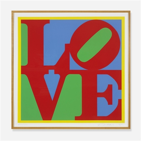 Heliotherapy Love, 1995 - Robert Indiana