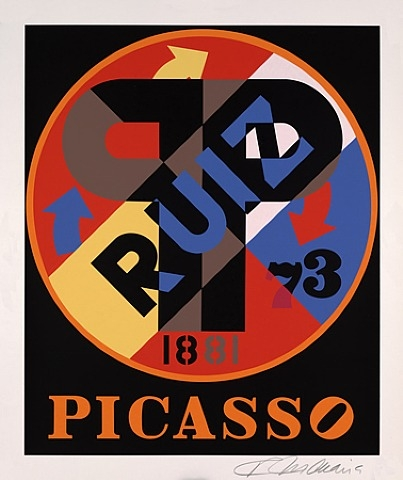 Picasso, The American Dream, 1998 - Robert Indiana