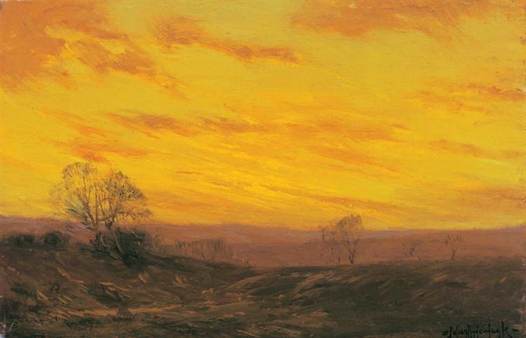 Golden Evening, Southwest Texas - Robert Julian Onderdonk