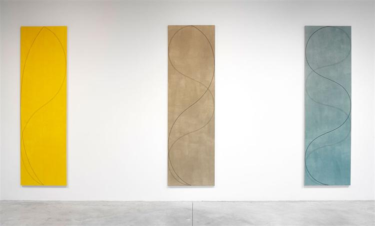 Column Paintings, 2004 - Robert Mangold